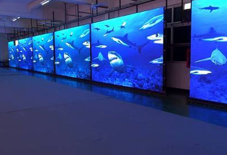 LED Video Display- Supporting Creative Design Possibilities