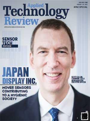 Japan Display Inc. : Hover Sensors Contributing To A Hygienic Society